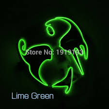green lantern neon light beat boy favors mysterious neon light led party cheer mask christmas