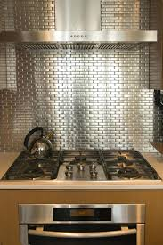 stainless steel backsplashes for kitchens steel tile backsplash kitchen steel mosaic tiles stainless