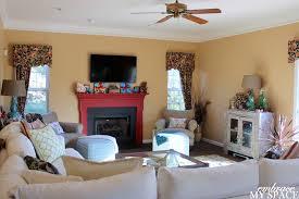 living room setup with fireplace binhminh decoration