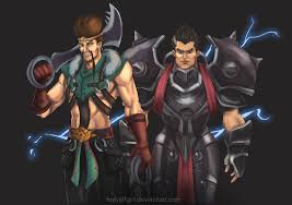 League Of Draven Meme - draven and darius by holyelfgirl on deviantart