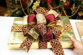 large gift bows see how to make a gift bow out of ribbon pro bow the