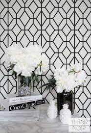 Bathroom White And Black - the 25 best black and white wallpaper ideas on pinterest