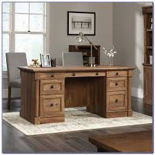 sauder palladia executive desk sauder palladia executive desk select cherry finish desk home