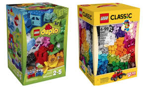 walmart lego classic or duplo large creative sets only 30 black