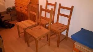 holzstühle esszimmer vier stühle esszimmer holzstühle kiefer in bayern kempten ebay