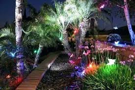 multi color led landscape lighting color changing low voltage landscape lighting multi color led
