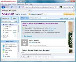 how to layout a email using email including yahoo mail and microsoft outlook 2007