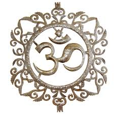 om metal wall art decor in stock reduced price om u0026 temple