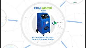 Recharge Station Ekm2000sp A C Recovery Recycle Recharge Station A C Service