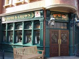 rose and crown pub and dining room the disney food blog
