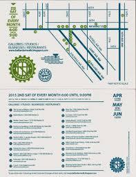 Map Ballard Seattle by Ballard Art Walk