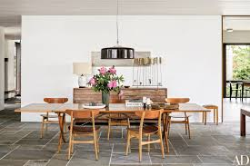 Dining Room Furniture Nyc 10 Midcentury Modern Dining Rooms Photos Architectural Digest