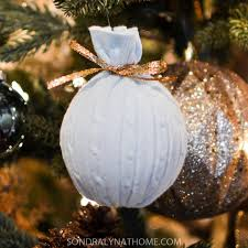diy sweater ornaments lyn at home