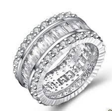 unique wedding rings for women genuine sterling silver 925 womens rings wedding rings unique