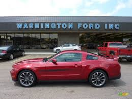 2011 Black Mustang 2011 Red Candy Metallic Ford Mustang Gt Cs California Special
