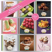 livre de cuisine patisserie livre coffret 9 mini livres pâtisserie 200 recettes gourmandes