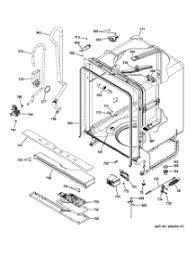 General Electric Dishwasher Parts For Ge Gdf510pgd0bb Dishwasher Appliancepartspros Com