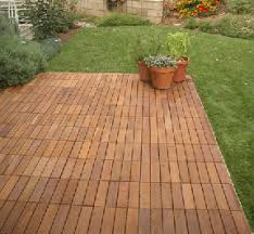 Wood Patio Flooring by Outdoor Deck Tiles Crafts Home