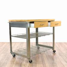 kitchen island stainless steel kitchen island cart inspirational
