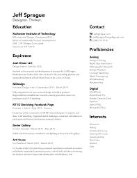 Industrial Design Resume Jeff Sprague Resume