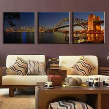 aliexpress com buy 3 pcs set landscape sydney harbour bridge