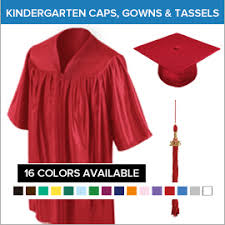 kindergarten cap and gown kindergarten graduation cap and gown packages gradshop