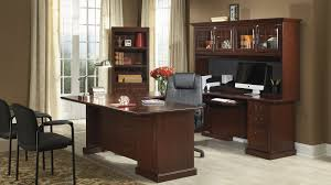 office desk l shaped with hutch heritage hill collection file cabinet home office desk with