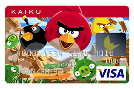 Business Prepaid Debit Card Kaiku Angry Birds Visa Prepaid Card Available Now Business Wire