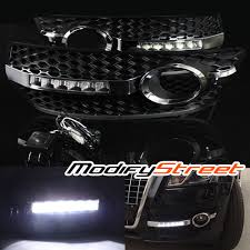 audi q5 cover for 09 12 audi q5 daytime running drl led fog lights bumper lamps