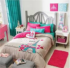 Queen Bedding Sets For Girls by Amazon Com Paris Chic Eiffel Tower French Teen Girls Comforter