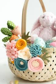 basket easter easy easter baskets