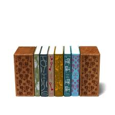 engraved bookends penguin books engraved wooden bookends makemesomethingspecial