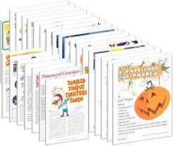 free printable halloween bookmarks halloween printable halloween games for halloween parties