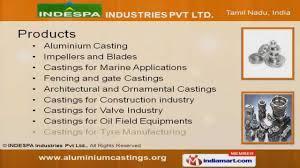 aluminium by indespa industries pvt ltd coimbatore