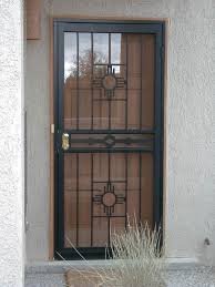 Front Door Security Gate by Security With A Breeze U2026 Home Security Systems Pinterest