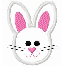 rabbit head clipart clipartxtras