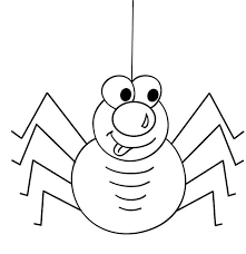 spider coloring pages printable get coloring pages