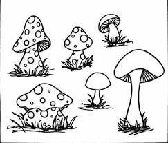 alice wonderland mushroom drawing printable google