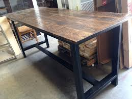 Industrial Bar Table Industrial Bar Table Photo Of Custom Furniture Hi United States
