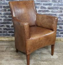 Small Leather Armchair Industrial Arm Chair Finelymade Furniture