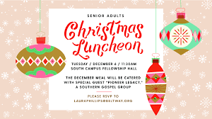 christmas lunch invitation senior adults christmas luncheon beltway events