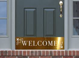 Exterior Door Kick Plate Decorative Door Kick Plates Deck The Door Decor
