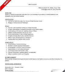 objective for dental assistant resume fashion stylist resume