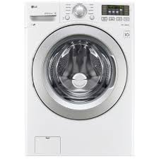 lg wm3270cw 4 5 cu ft ultra large capacity front load washer w