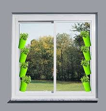 window planters indoor amazon com indoor window veggies herb window self watering pot