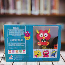 felt monsters activity for kids great idea for kids birthday