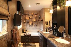 wall ideas modern rustic bathroom wall decor rustic bathroom