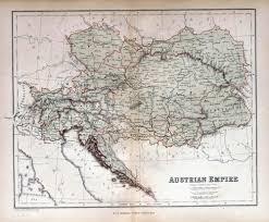 Map Of Czech Republic Old Map Of Austria Hungary Czech Republic Slovakia 1870