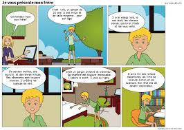 d馗rire sa chambre en anglais la classe de français présenter décrire quelqu un bande dessinée