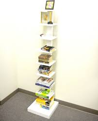 Bookshelf Organization Spine Standing Book Shelves Black Storage And Organization